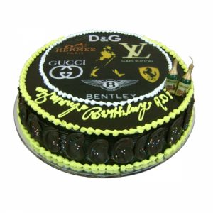 Brand Photo Cake