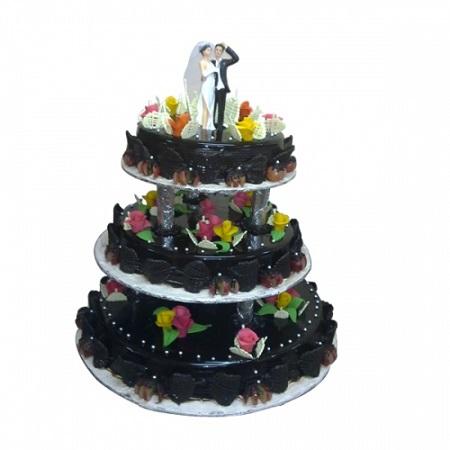 Chocolate Wedding Cake 1