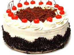 Black Forest With Cream & Cherry 1