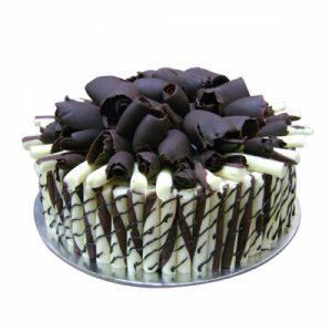 White Cigar Chocolate Cake
